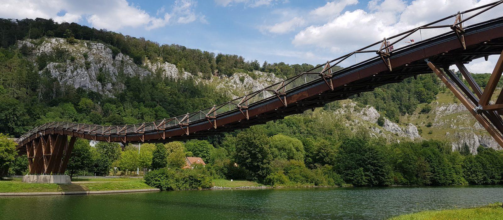 Holzbrücke Essing