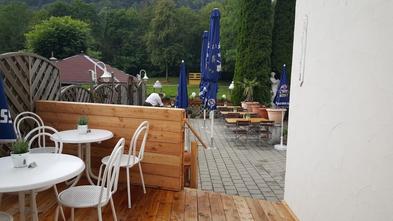 Biergarten Cafe Altmühl